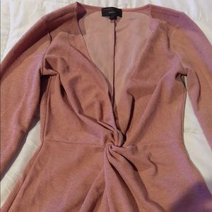 Michael Costello X Revolve dress
